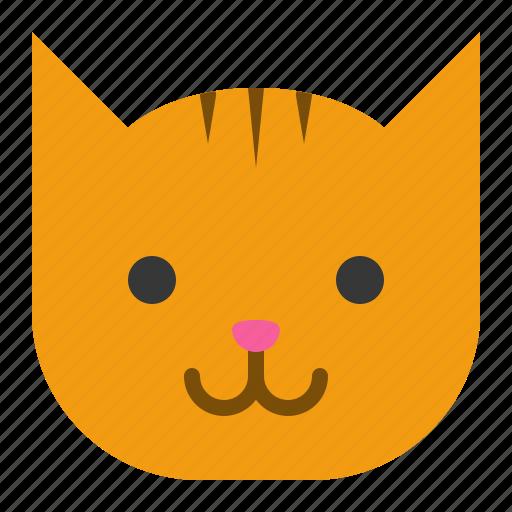 animal, cat, face, head, pet, zoo icon