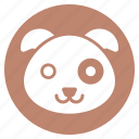 animal, dog, face, head, pet, zoo icon