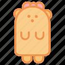 animals, baby, bear, cute, stuff, teddy, toy icon