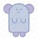 animals, bear, cute, mouse, stuff, teddy, toys icon