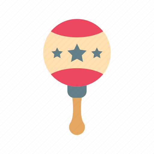 baby, game, maracas, music, musical, play, toy icon