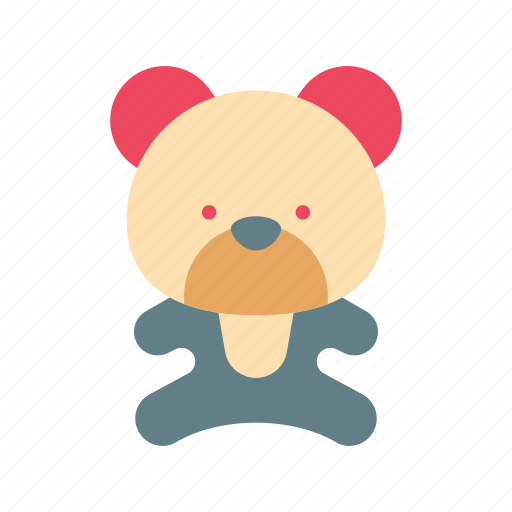 baby, bear, cute, doll, game, play, toy icon
