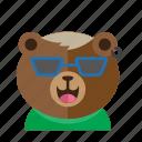 avatar, bear, cute, fun, smile, style icon