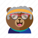 avatar, bear, cute, fun, smile, style icon