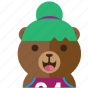 avatar, bear, cute, fun, smile, style