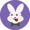 +rabbit icon, bunny, cute, rabbit, rabbit face icon