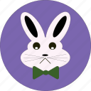 +rabbit face, +sad, +sad face, +sad rabbit, bunny, cute icon