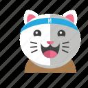avatar, cat, cute, fun, smile, style icon