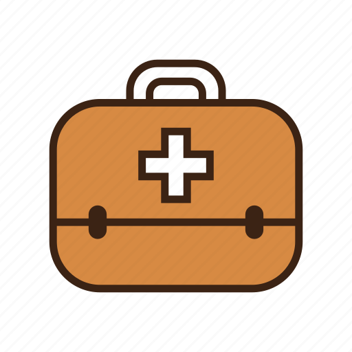 animal, box, cross, dog, first aid kit, medical, medicine icon