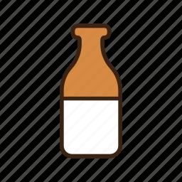 animal, bottle, cow, dog, drink, milk, milk bottle icon
