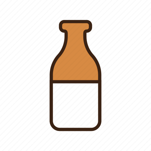 animal, bottle, cow, dog, drink, milk, milk bottle icon