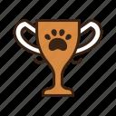 animal, award, claw, contest, dog, pet, thropy