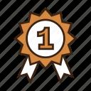 animal, award, badge, contest, dog, first place, pet
