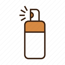 anti lice, bottle, dog, medical, medicine, spray, spray bottle icon