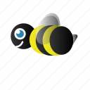 bee, bumble bee icon