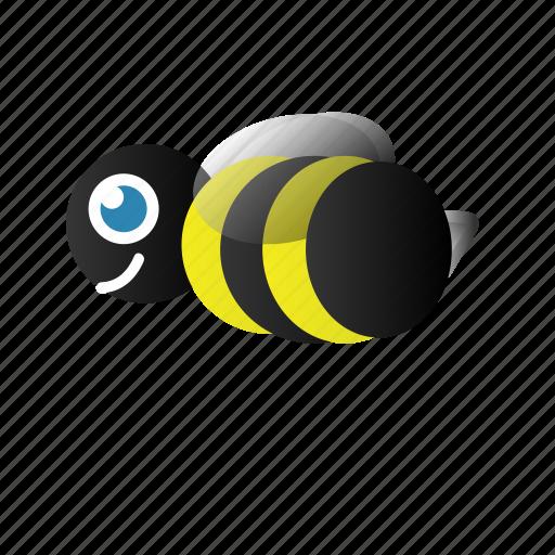 bee, bumble bee, du icon