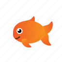 fish, goldfish icon