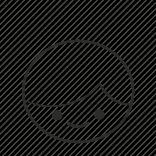 boy, emojis, emoticons, face, happy, head, people icon