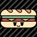 sandwich, toast, bread, breakfast, fast food