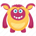 demon, dragon ball monster, fat monster, halloween monster, monster cartoon