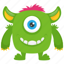 halloween character monster cartoon, haunted monster, overachiever monster, zombie monster icon