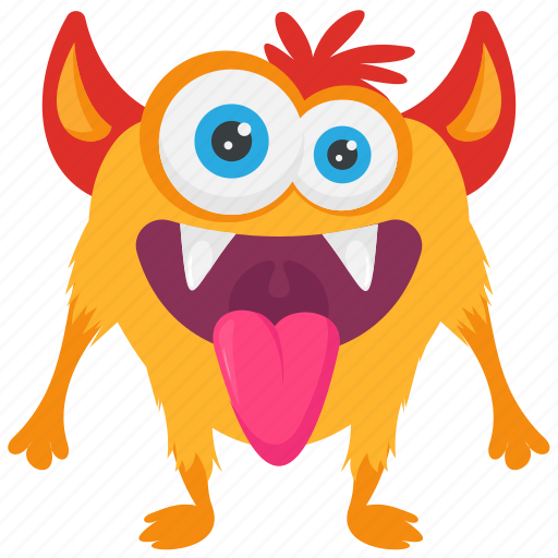 Animal monster, monster cartoon, monster character, snail mail monster, zombie icon - Download on Iconfinder
