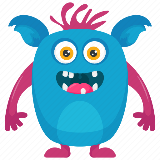 alien monster, cute monster, moshi costume, moshi monster, moshi monster character icon