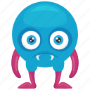 dead zombie monster, demon monster, horrible creature, monster cartoon, skull monster icon
