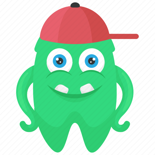 Buck monster, buck tooth monster, halloween character, monster cartoon, zombie monster icon - Download on Iconfinder