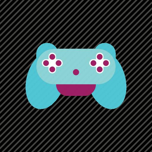 cute, entertainment, fun, game, gamepad, joypad, play icon