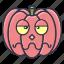#fall, bored, halloween, holiday, pumpkin, vegetable, vegetables icon