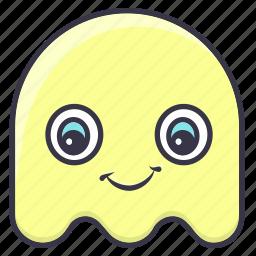 avatar, cartoon, character, cute, ghost, halloween, monster icon