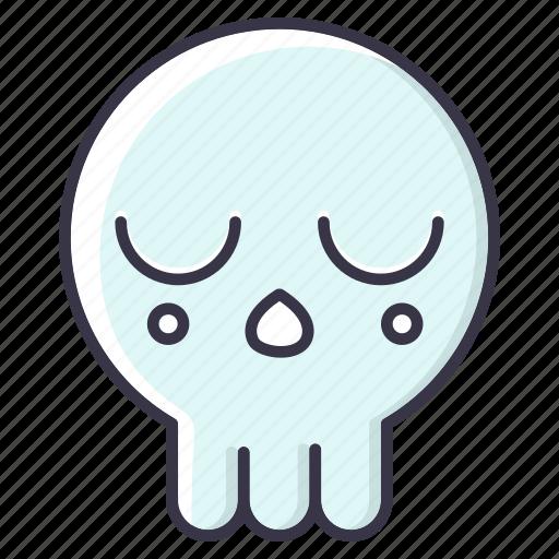 #fall, avatar, cartoon, cute, halloween, monster, skull icon