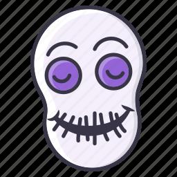 #fall, fun, halloween, horror, monster, scary, skull icon