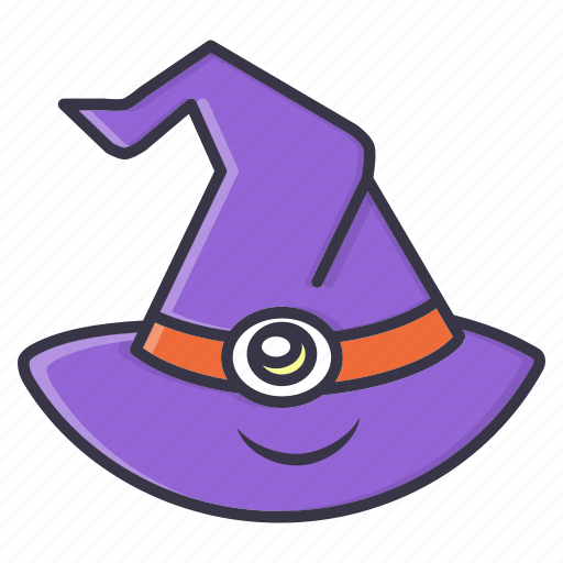 halloween, hat, holiday, magic, witch icon