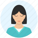avatar, female, girl, person, profile, user, woman
