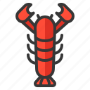 food, lobster, oktoberfest, seafood icon