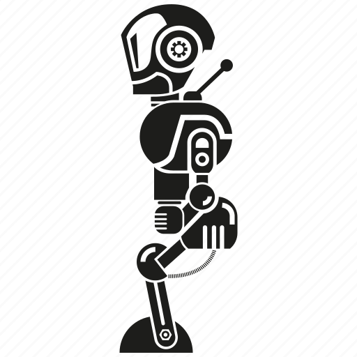 android, artificial intelligence, auto, cartoon, kid, mascot, robot icon
