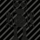 android, artificial intelligence, auto, cartoon, machine, mascot, robot