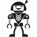 android, artificial intelligence, auto, cartoon, mascot, robot, toy icon