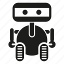 android, cartoon, cute, game, humanoid, intelligence, robot