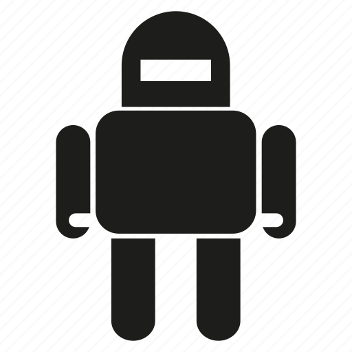 android, cartoon, cute, game, humanoid, intelligence, robot icon