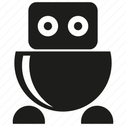 character, cute robot, cyborg, humanoid, mascot, robot, robotic icon