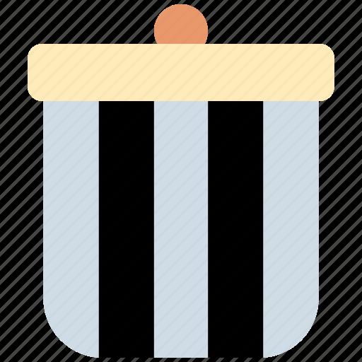 Bin, trash, dustbin, interface, ui icon - Download on Iconfinder