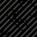pin, marker, pointer, location