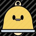 bell, notification, alert, interface