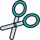 cut, scissors, cutting, tool, interface