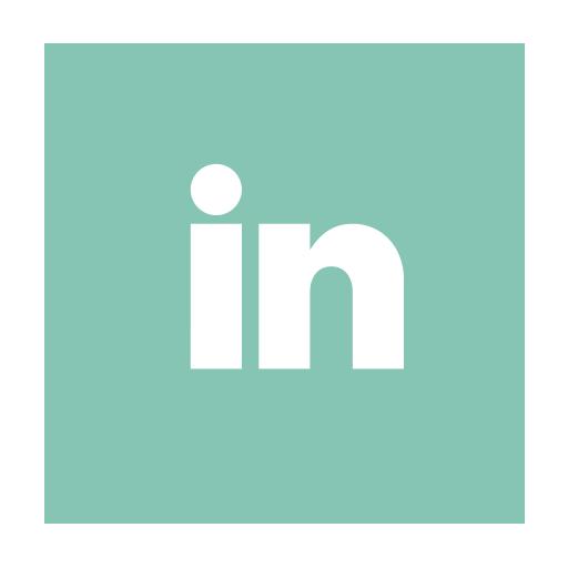 in, social, social media icon