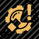 alert, danger, failure, problem, warning icon