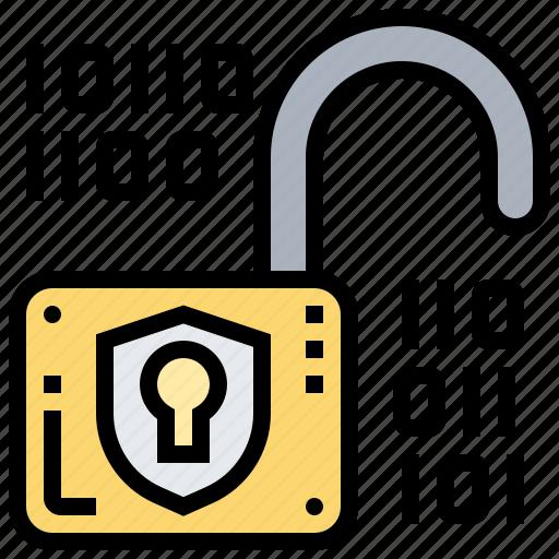 key, lock, password, protect, unlock icon